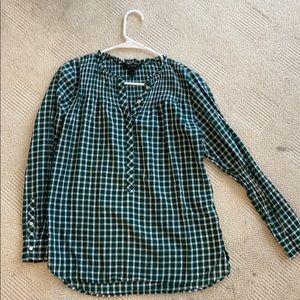 J. Crew long sleeve blouse
